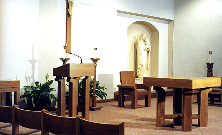 "ANDRÉN & KNAPP - INTERIOR, ""St. Margaret Mary Chapel"""