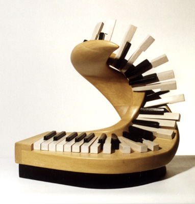 "Candace Knapp, ""Piano Fantasie #1"" - Music Sculpture"