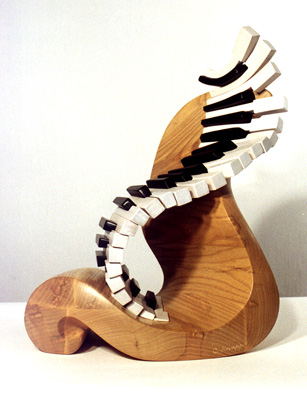 "Candace Knapp, ""Piano Fantasie #2"" - Music Sculpture"