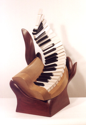 "Candace Knapp, ""Piano Jazz"" - Music Sculpture"