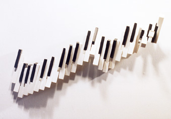 "Candace Knapp, ""Runaway Piano"" - Music Sculpture"